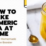 tumeric tea natural immune boster