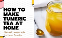 tumeric tea natural immune boster